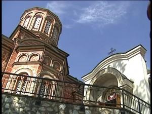 Ретро - Манастир Покрова Пресвете Богородице у Ђунису 01