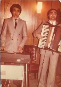 Od početka zajedno: Dragan (levo) i Zoran, njegov brat (desno)