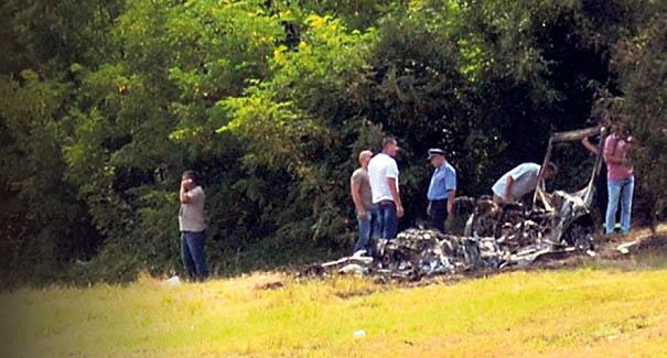 Mesto na kome je spaljen automobil sa žrtvama