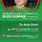 Pomozimo dr Ani Jaćimović! SMS: 811 na 3030