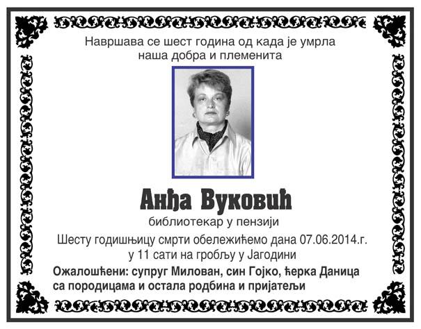 Andja Vukovic