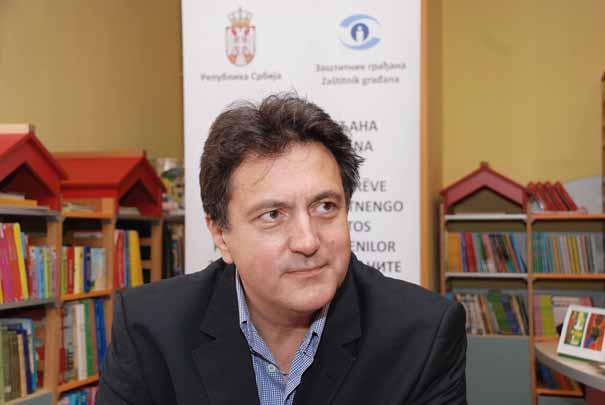 Zamenik zaštitnika građana Miloš Janković