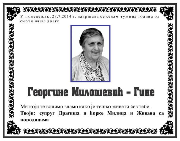 Georgina Milosevic