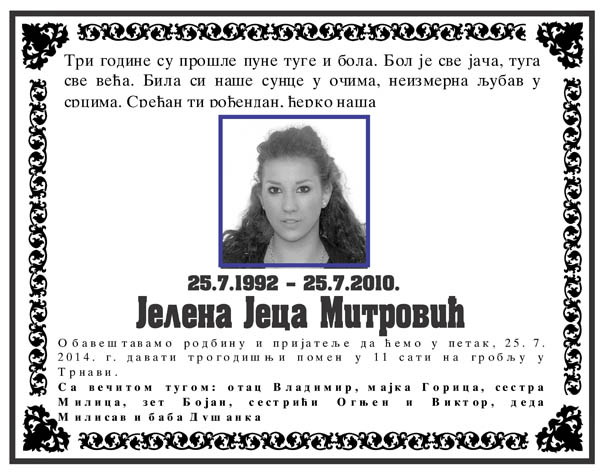 Jelena Mitrovic 2