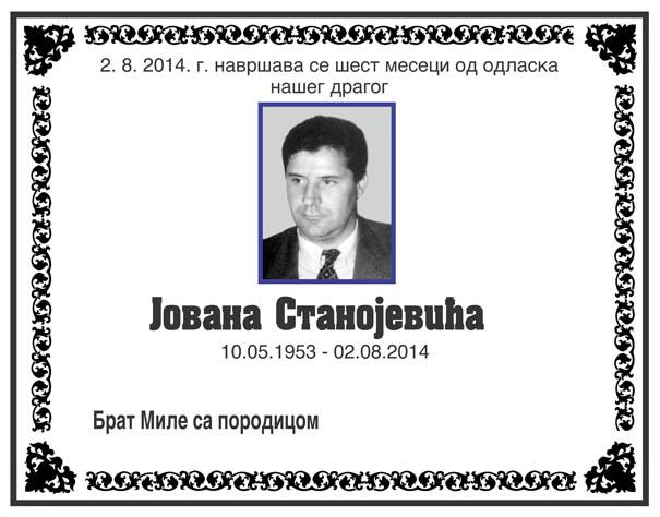 Jovan Stanojevic
