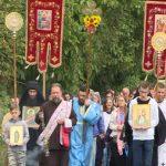 Litija od stare crkve do manastira Jošanica