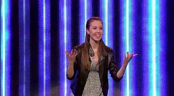 Mađarica u šou programu Audicija