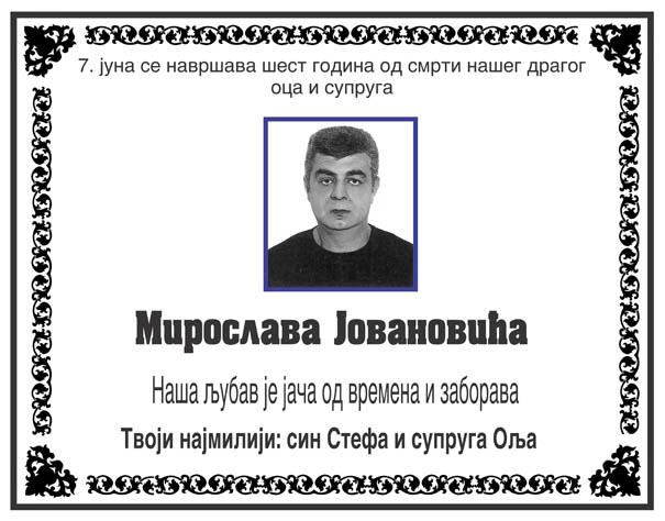 Miroslav Jovanovic
