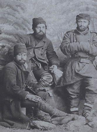 Nusic sa vojnicima u Jagodini