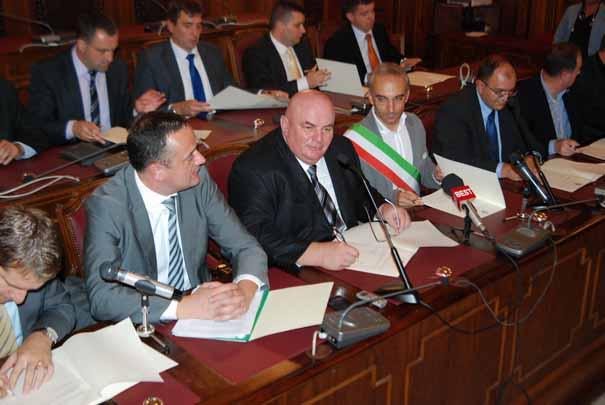 Potpisivanje Protokola o poslovno - tehničkoj saradnji