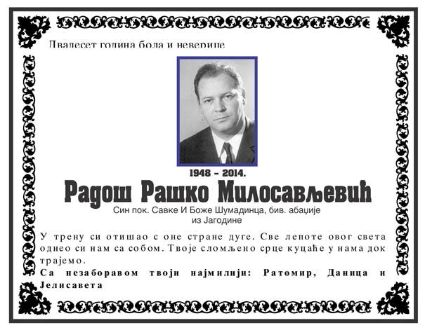 Rados Milosavljevic