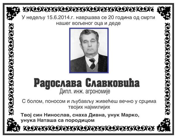 Radoslav Slavković