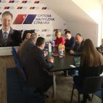 Šarčević razgovarao sa rukovodstvom stranke