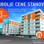 Povoljne cene stanova i lokala u kragujevackom naselju Smallville