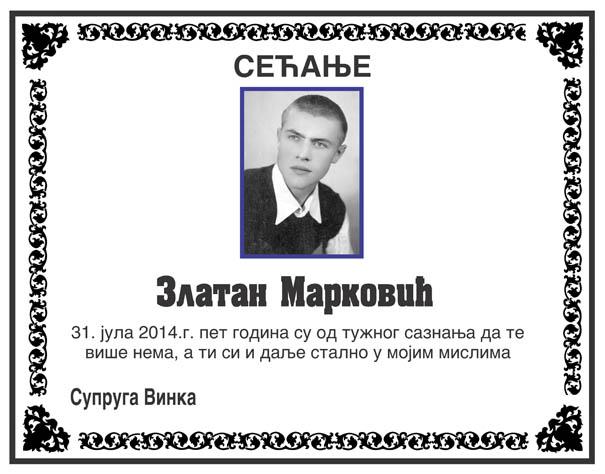 Zlatan Markovic