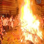 Održano tradicionalno paljenje badnjaka u Jagodini