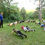 Jagodinski džudisti treniraju na Ruskom groblju