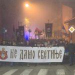 Održani moleban i litija za srpske svetinje u Crnoj Gori