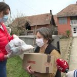 Podela uskršnjih paketa u Jagodini