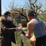 Nastavljena podela pomoći starijim licima u Jagodini