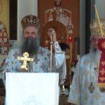 Patrijarha Porfirija u Končarevu dočekalo više od 4500 ljudi