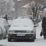 Ulice prekrivene snegom