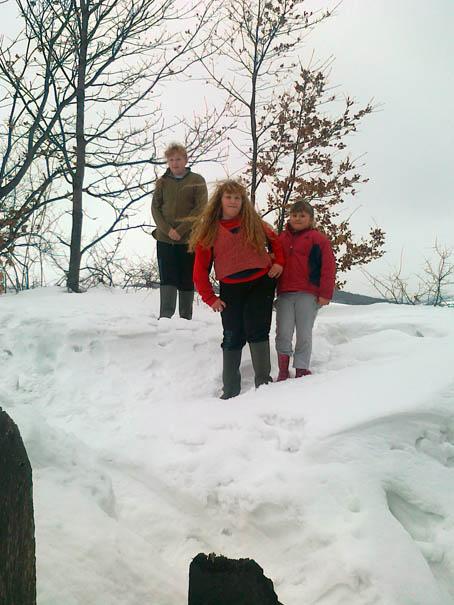 Sneg jedino raduje Jasminkinu i Momčilovu decu