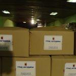 U Jagodini podeljeno 6300 humanitarnih paketa