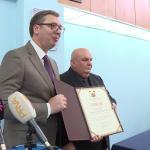Aleksandar Vučić počasni građanin Jagodine